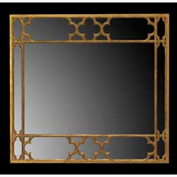 Strawberry Hill Gothic Overmantel Mirror