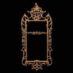 Chippendale Carved Giltwood Pier Glass