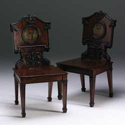 Chippendale Hall Chair