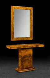 Mirror in Burr Walnut