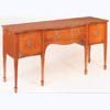 Serpentine Front Mahogany Sideboard
