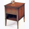 Mahogany Single Drawer Bedside