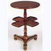Mahogany Table with Revolving Centre Tier