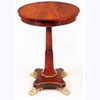 Mahogany Circular Top Table