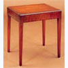 Mahogany Inlaid Lamp Table with Caddy Top