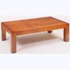 Square Heavy Leg Plain Coffee Table