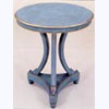 Decorative Lamp Table on Trefoil Base
