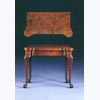 George III Card Table in Highly Figured Burr Walnut