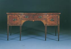 George III Mahogany Sideboard with Inlay