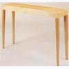 Contemporary Tapered Leg Console with Leg Detail