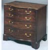 George II Style Small Serpentine Chest
