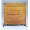 Regency Bow Fronted Chest