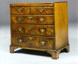 George I St Walnut Chest