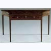Painted & Gilt Concave Ended Console Table