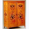 Hand painted Satinwood 2-Door Wardrobe